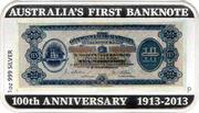 1 Dollar - Elizabeth II (First Banknote) -  reverse
