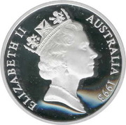 5 Dollars - Elizabeth II (3rd Portrait - James Cook - Masterpieces in Silver) -  obverse