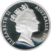 5 Dollars - Elizabeth II (3rd Portrait - Matthew Flinders - Masterpieces in Silver) -  obverse
