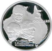 5 Dollars - Elizabeth II (W.Lawson, G.Blaxland) -  reverse