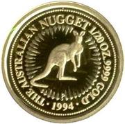 5 Dollars - Elizabeth II (Red Kangaroo) -  reverse