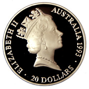 20 Dollars - Elizabeth II (Team Relay) -  obverse