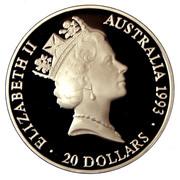 20 Dollars - Elizabeth II (Team Relay) -  obverse