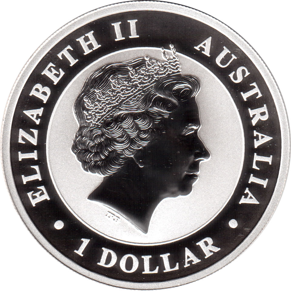 2 Coins Regular /& Special Horse Privy 2014 Australia Kookaburra 1 oz .999 Silver