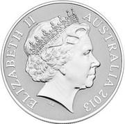 1 Dollar - Elizabeth II (Saltwater Crocodile) -  obverse