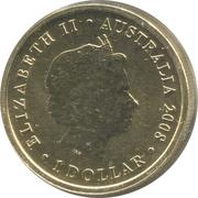 1 Dollar - Elizabeth II (Wedge-tailed Eagle) -  obverse