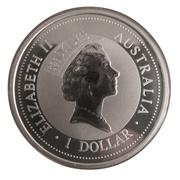 1 Dollar - Elizabeth II (Australian Kookaburra) -  obverse
