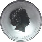 1 Dollar - Elizabeth II (Year of the Horse) -  obverse