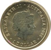 1 Dollar - Elizabeth II (Grey Kangaroo) -  obverse