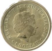 1 Dollar - Elizabeth II (Echidna) -  obverse