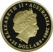 25 Dollars - Elizabeth II (The Sovereign) -  obverse