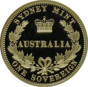 25 Dollars - Elizabeth II (The Sovereign) -  reverse