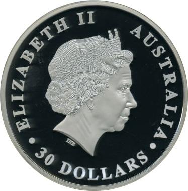 30 Dollars Elizabeth Ii Quot Koala Quot Silver Bullion Coinage