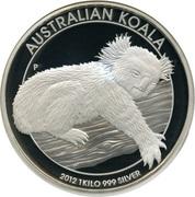 30 Dollars - Elizabeth II (4th Portrait - Koala - Silver Bullion Coin) -  reverse
