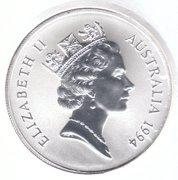 1 Dollar - Elizabeth II (Kangaroo Silver Bullion Coinage) -  obverse