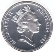 25 Dollars -  Elizabeth II (Princess Margaret) -  obverse