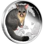 50 Cents - Elizabeth II (4th Portrait - Australian possum) -  reverse