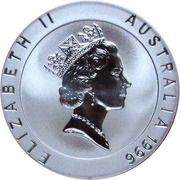 10 Dollars - Elizabeth II (3rd portrait - Shirley Strickland - Frosted Proof) -  obverse
