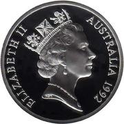25 Dollars - Elizabeth II (3rd Portrait - Princess Anne - Masterpieces in Silver) -  obverse