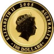 100 Dollars - Elizabeth II (World War II) -  obverse