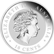 10 Cents - Elizabeth II (