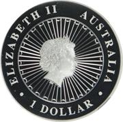 1 Dollar - Elizabeth II (4th Portrait - Opal Masked Owl) -  obverse