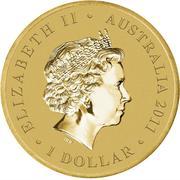 1 Dollar - Elizabeth II (Bush Babies - Koala) -  obverse