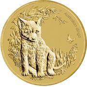 1 Dollar - Elizabeth II (Bush Babies - Dingo) -  reverse