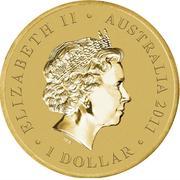 1 Dollar - Elizabeth II (Bush Babies - Sugar Glider) -  obverse