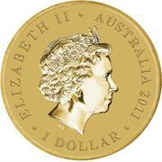 1 Dollar - Elizabeth II (Bush Babies - Kangaroo) -  obverse