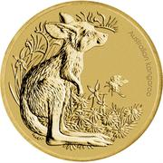 1 Dollar - Elizabeth II (Bush Babies - Kangaroo) -  reverse