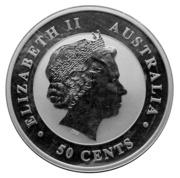 50 Cents - Elizabeth II (Australian Koala) – obverse