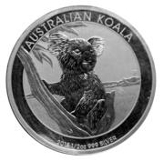 50 Cents - Elizabeth II (Australian Koala) – reverse