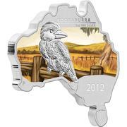1 Dollar - Elizabeth II (Kookaburra) -  reverse