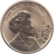 1 Dollar - Elizabeth II (Dame Nellie Melba) -  reverse