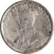 6 Pence - George V -  obverse