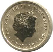 1 Dollar - Elizabeth II (Gallipoli) -  obverse