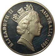 20 Cents - Elizabeth II (3rd portrait) – obverse