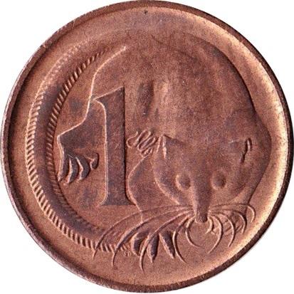 1 Cent Elizabeth Ii 2nd Portrait Australia Numista