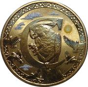 1 Dollar - Elizabeth II (4th Portrait - Alphabet Collection - Letter C) -  reverse