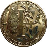 1 Dollar - Elizabeth II (Alphabet Collection - Letter F) -  reverse
