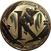 1 Dollar - Elizabeth II (Alphabet Collection - Letter K) -  reverse
