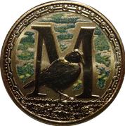 1 Dollar - Elizabeth II (4th Portrait - Alphabet Collection - Letter M) -  reverse
