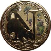 1 Dollar - Elizabeth II (Alphabet Collection - Letter N) -  reverse