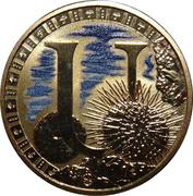 1 Dollar - Elizabeth II (Alphabet Collection - Letter U) -  reverse