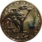 1 Dollar - Elizabeth II (4th Portrait - Alphabet Collection - Letter Y) -  reverse