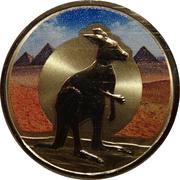 1 Dollar - Elizabeth II (Unlikely Heroes - Shake the Kangaroo) -  reverse