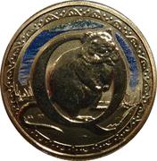 1 Dollar - Elizabeth II (4th Portrait - Alphabet Collection - Letter Q) -  reverse