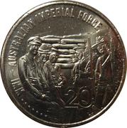 20 Cents - Elizabeth II (Australian Imperial Force) -  reverse