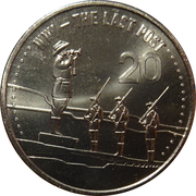 20 Cents - Elizabeth II (The Last Post) -  reverse